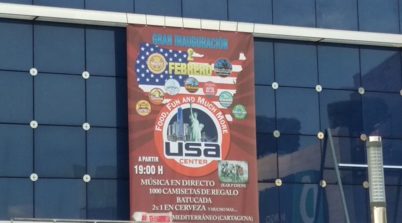 Inauguración Food, Fun and Much More USA center