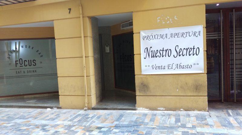 Próxima Apertura NUESTRO SECRETO – VENTA EL ABASTO