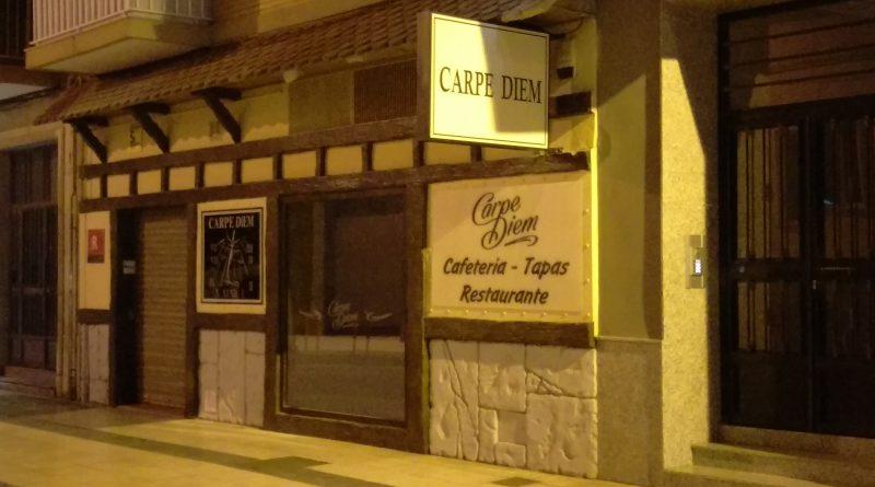 Próxima apertura Restaurante CARPE DIEM