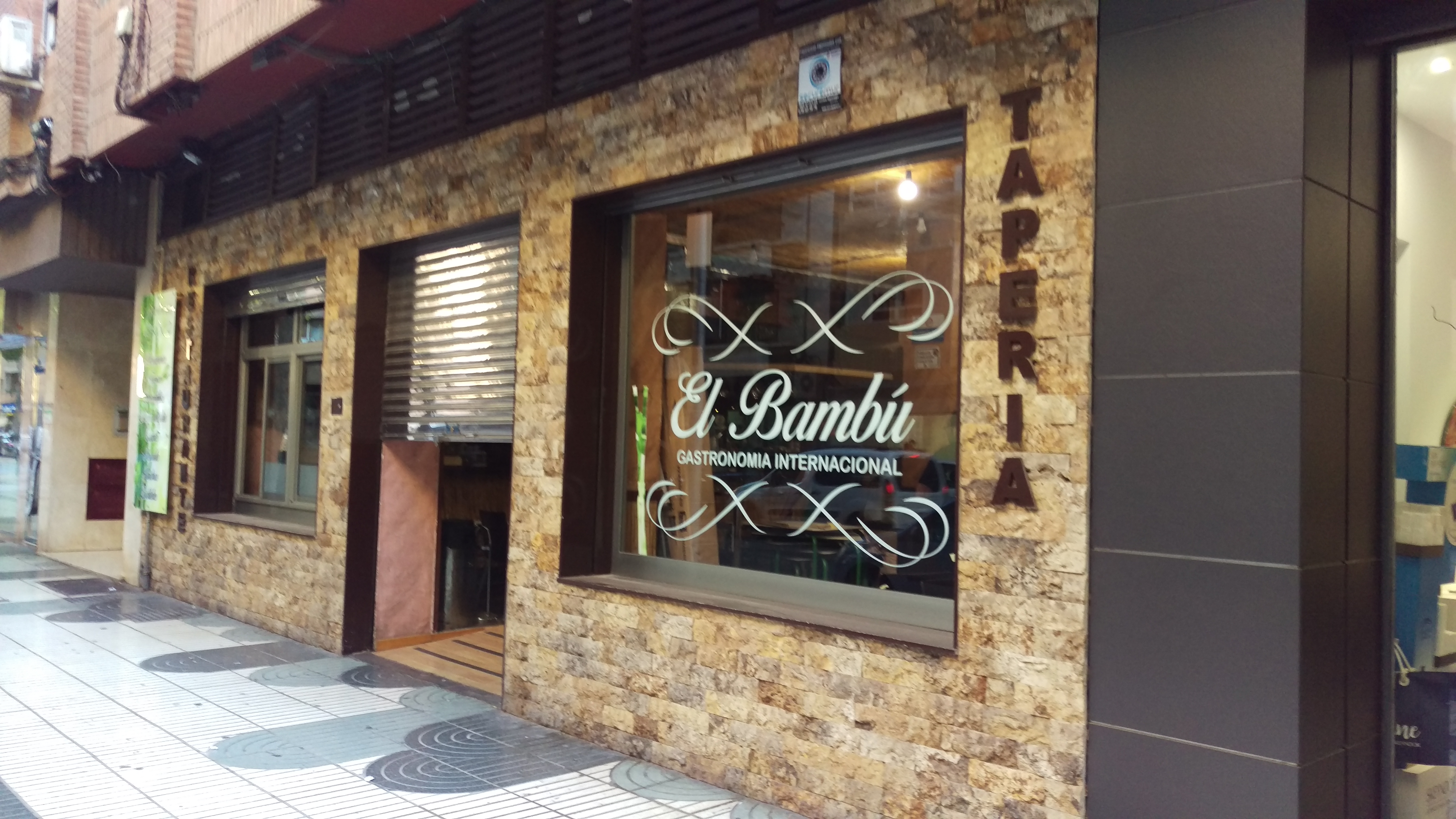 Próxima apertura RESTAURANTE EL BAMBÚ