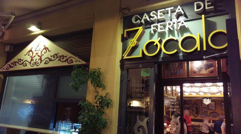 Tapería ZÓCALO CASETA DE FERÍA