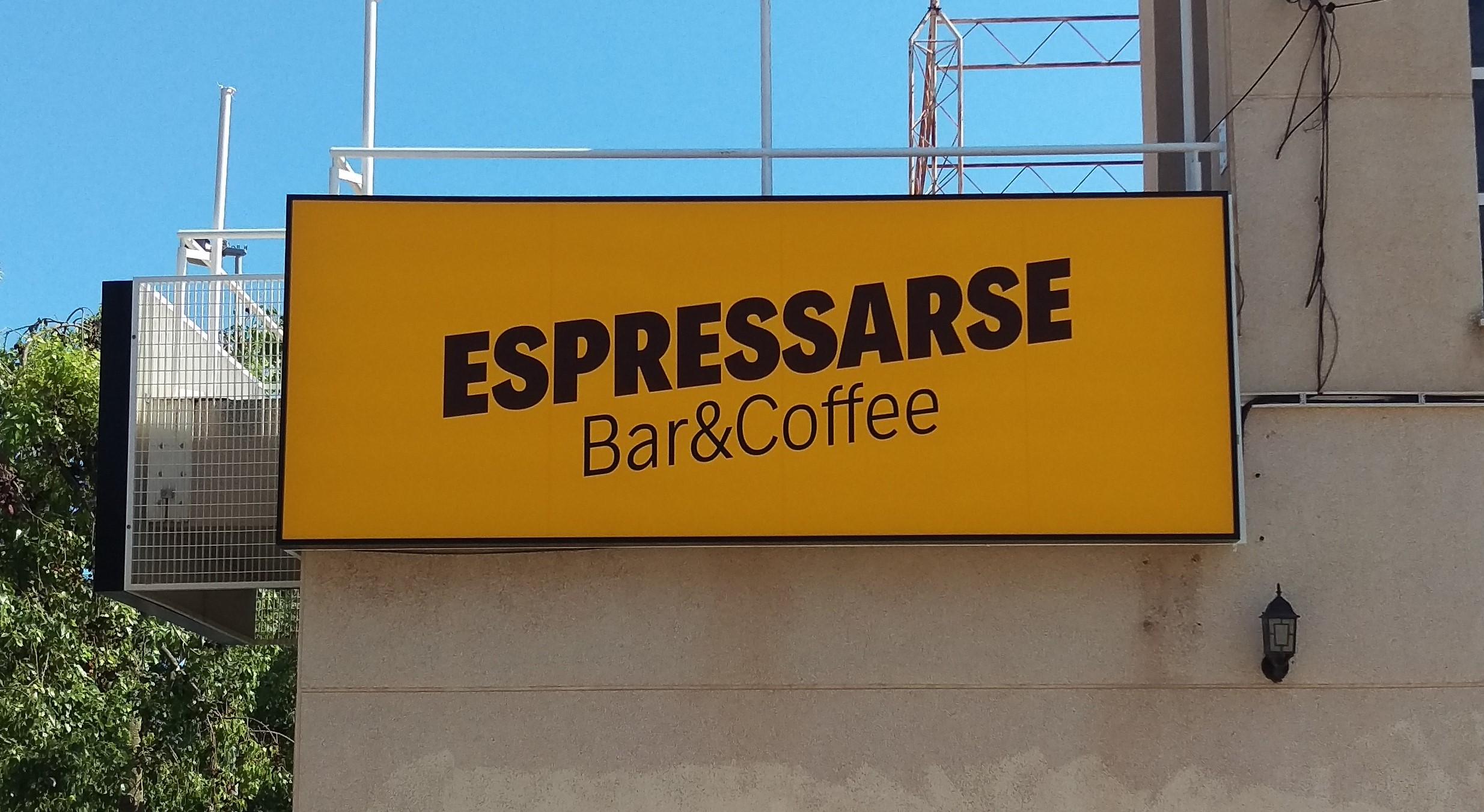 Próxima apertura ESPRESSARSE BAR & COFFEE