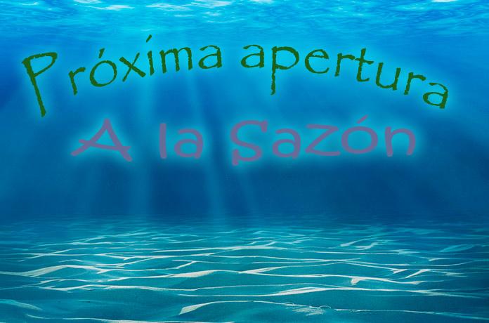 Próxima apertura A la Sazón