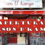 Apertura MESÓN D'KAMPO
