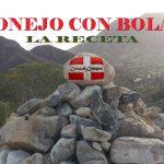 CONEJO CON BOLAS, LA RECETA