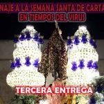 Homenaje a la Semana Santa de Cartagena en tiempos del virus – Tercera Entrega