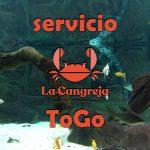 Servicio ToGo de La Cangreja Cartagena