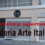 Próxima apertura HELADERÍA ARTE ITALIANA